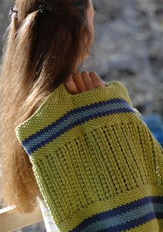 BYOB knit mesh bag - Summer 2008 - Knitty