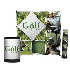 Customized Geometrix Pop-Up Total Show Package #marketing #promoproducts #branding #displays | Promotional Trade Show Total Packages | Branded Trade Show Products