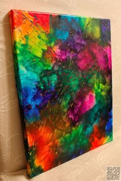 35. All the #Colors - 36 Vibrant #Examples of Crayon Art ... → DIY #References