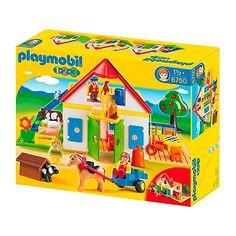 "Toys ""R"" Us - Playmobil 1.2.3 - Mi Primera Granja - 6750"