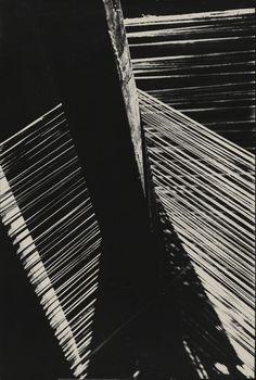 Hans Finsler - Part of a Loom, 1928