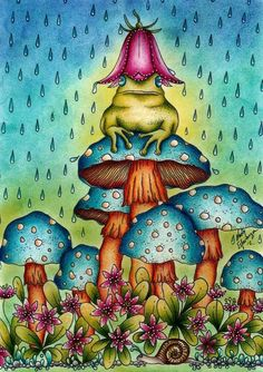 Colouring...enchanted forest