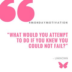 "Today is your day! We expect a response. This could change everything for you. If you are reading and not responding you could lose out on a life-changing moment right here right now. Are you ready for the big question that you NEED to answer below? ....  ""WHAT WOULD YOU ATTEMPT TO DO IF YOU KNEW YOU COULD NOT FAIL?""   #MondayMotivation #HeatWave #Business"