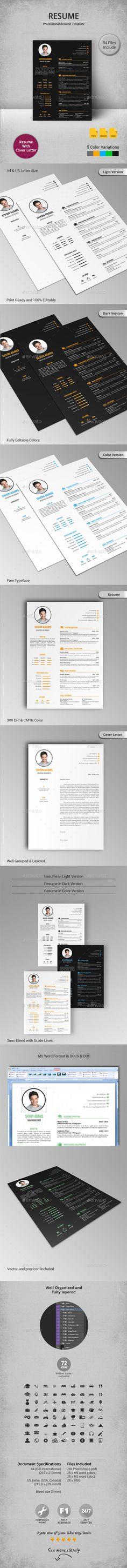 Simple Resume   Simple resume, Resume cover letters and Simple ...