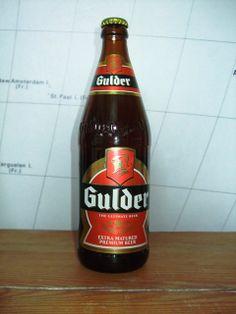 Gulder Lager from Nigeria
