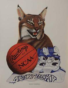 I love Kentucky Wildcat Basketball