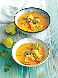Pho Bo, Speedy Recipes, Asian Recipes, Ethnic Recipes, Thai Red Curry, Food And Drink, Menu, Soup, Cooking