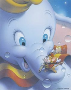 Smile: Dumbo by Sanda Tsuneo