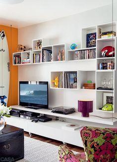 Mueble librero para tu sala