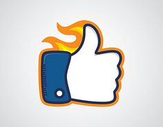 """Check out new work on my @Behance portfolio: """"Hot Like Firey Thumb Up"""" http://be.net/gallery/33895408/Hot-Like-Firey-Thumb-Up"""