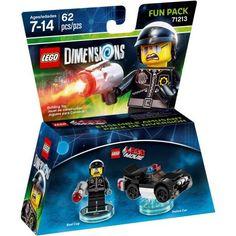 Lego Dimensions Bad Cop (Lego Movie) Fun Pack (Universal), Multicolor