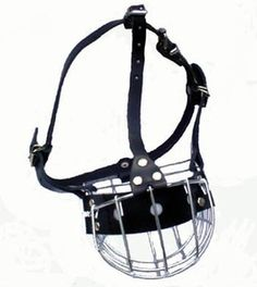 Wire Basket Dog Muzzles Boxer, Pit Bull Or Similar Snout Size