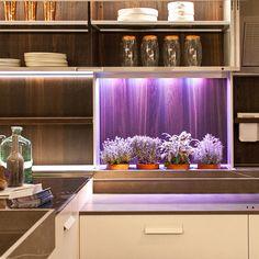 Milan Design Week 2014 Green Design Trends: Integrated Indoor Edible and Ornamental Indoor Gardens