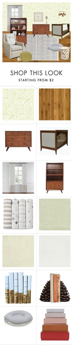 """Fauna Mid-Century Modern Nursery Design"" by smwlraleigh on Polyvore featuring interior, interiors, interior design, home, home decor, interior decorating, Dot & Bo, Pello, HAY and modern"