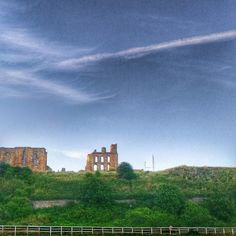 Tynemouth priory from the haven