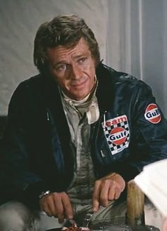 """Steve McQueen in """"Le Mans"""" 1971"""