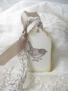 Sweet little bird tags
