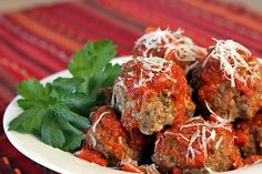 Classic Italian Meatballs - A big batch to feed a crowd or freeze for later