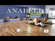 Glúteos redondos en solo 8 semanas con Anabella Galeano - YouTube