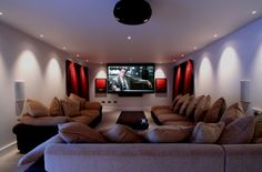 20 Home Cinema Room Ideas | UltraLinx