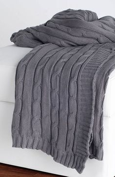 Rizzy Home Cable Knit Throw at Nordstrom.com. A textured, cable-knit throw adds a cozy-chic accent to your décor. 38.84