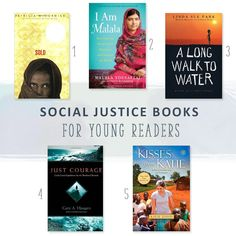 Want to share your love for social justice with young readers in an accessible and encouraging way? Check out these recommendations for books that will inspire a love of justice in the kids and teens in your life.