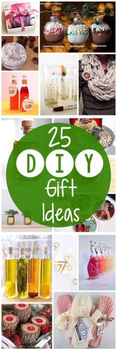 25 Amazing DIY Gift Ideas
