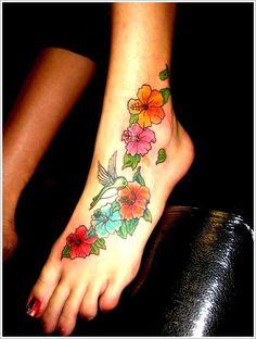 Tattoo Designs Especially Hawaiian Flower Tattoos For Women Tattoo . Tatto Design, Ankle Tattoo Designs, Tattoo Designs For Girls, Flower Tattoo Designs, Hawaiian Flower Tattoos, Hibiscus Flower Tattoos, Flower Tattoo Foot, Tattoo Flowers, Hawaiian Flowers