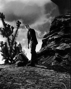 One of John's favorite acting performances - Boris Karloff as Frankenstein -