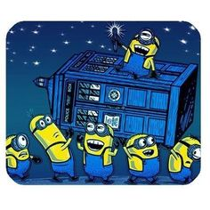 The #Minions have the TARDIS! #DoctorWho