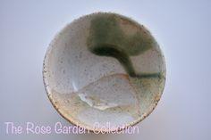 Small wheel thrown bowl with green drip glaze Glaze, Coconut, Fruit, Rose, Garden, Enamel, Pink, Garten, Gardens