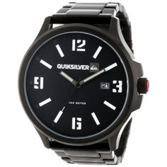 @Quiksilver Beluka Watch. $195.   #quiksilver #watches #kona  http://www.konasports.com/quiksilver-beluka-watch-in-black-white.aspx