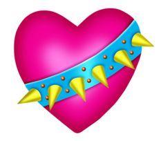 Cute Heart Drawings, Cute Animal Clipart, I Luv U, Fire Heart, Heart Shapes, Cute Animals, Bubbles, Hearts, Clip Art