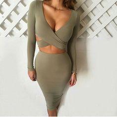Fashion Frenzzie - Side Cut Out Bodycon Dress Set , $50.00 (http://www.fashionfrenzzie.com/side-cut-out-bodycon-dress-set/)