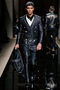 Balmain Fall 2016 Menswear Fashion Show