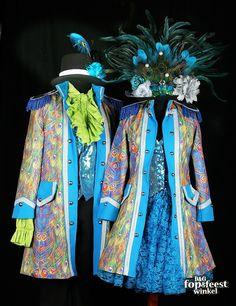 Jas dame Peacock