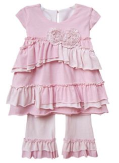 Two Piece Baby Outfit (Pink)