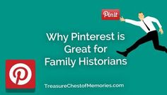 Read why #Pinterest is great for Family Historians #Familyhistory #socialmedia #genealogy #ideas Free Genealogy Sites, Genealogy Research, African American Genealogy, My Family History, Historical Images, Historian, Helping People, Social Media, Memories