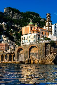 View from a boat ride along the Amalfi Coast near the town of Amalfi. Italy Photos by Jim DeLutes | Jim DeLutes Photography