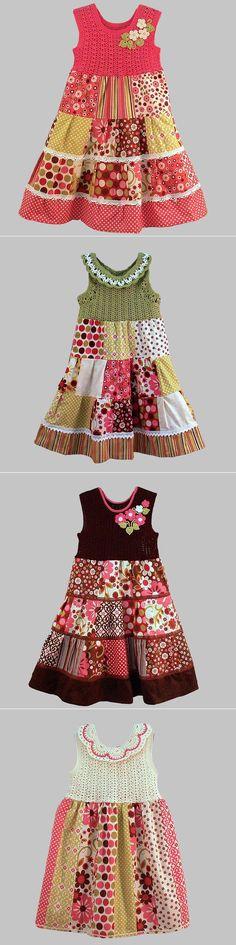 Las colecciones de los vestidos infantiles del maestro admirable de María Kuchinoy