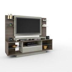 """Home Torino 1,80m - Móveis Bechara Suporta Tvs de 52"""" R$729,90  ou 10x de R$72,99 ou R$656,91 no Boleto ou Bankline (10% desconto)"""