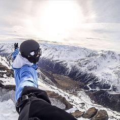 Gopro #snowboard