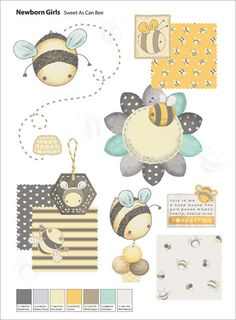 Trendsetter Kids Graphic Collection Vol. 3 is pursuing the successful graphic book Trendsetter Kids Graphic Collection Vol. 1 & Trendsetter Kids Vol. 3 is a comprehensive source of inspiration for Newborn-, Baby Fashion Room, Kids Fashion, Bumble Bee Birthday, Cool Themes, Coreldraw, Kids Wear, Children Wear, Baby Decor, Coloring For Kids