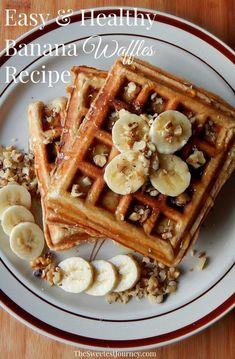 The snack is a topic that is talking about nutrition. Is it really necessary to have a snack? A snack is not a bad choice, but you have to know how to choose it properly. The snack must provide both… Continue Reading → Breakfast Waffle Recipes, Waffle Maker Recipes, Breakfast Waffles, Breakfast Ideas, Breakfast Menu, Healthy Waffle Recipes, Breakfast Omelette, Healthy Food, Banana Breakfast