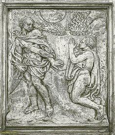 Formella di Jacopo della Quercia - Bologna  JACOPO DELLA QUERCIA Jacopo di Pietro d'Agnolo di Guarnieri  (Siena, 1374 circa – Siena, 1438) è stato uno scultore italiano.   #TuscanyAgriturismoGiratola