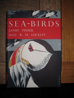 """Clifford and Rosemary Ellis """"Sea Birds"""" illustration for the New Naturalist series"""