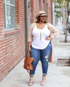 """NEW BLOG POST: """"Weekend Casual"""". Outfit details on TrendyCurvy.com!"""