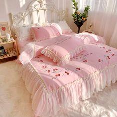 Cute Bedroom Ideas, Cute Room Decor, Room Ideas Bedroom, Pastel Room, Pink Room, Pretty Room, Aesthetic Room Decor, Dream Rooms, My New Room