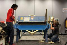 Folding Machine, John David, Bending, Drafting Desk, Apron, Alternative, Tools, Box, Image