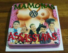 Mamonas Assassinas cake